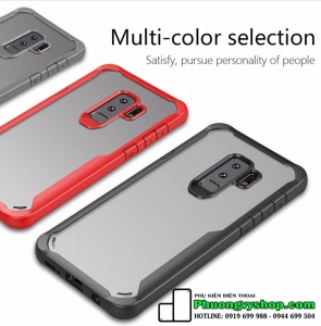 Ốp dẻo Multi color chống shock Galaxy S9 Plus